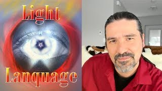 What is light Language, Message Healing with Jesus, Light language transmission