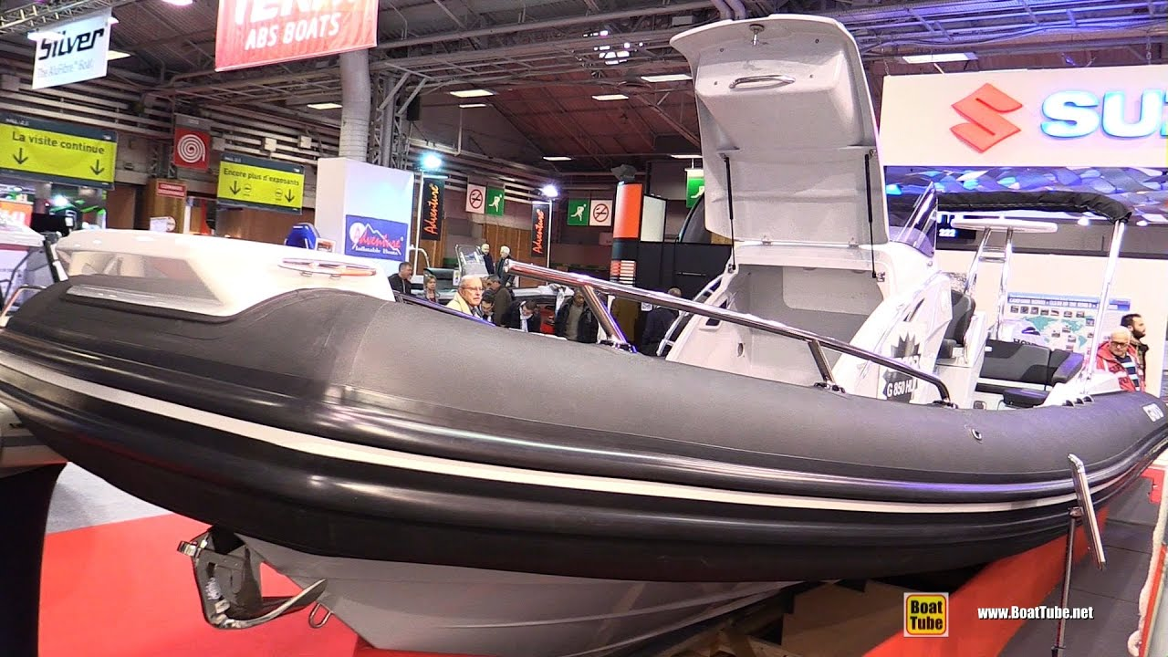 2017 Grand G850 Hypalon Inflatable Boat - Walkaround - 2016 Salon Nautique  Paris