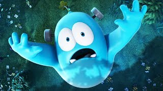 Funny Animated Cartoon | Spookiz | Frankie Is Scared | 스푸키즈 | Kids Cartoons | Videos for Kids