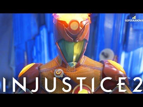 "MY FAVORITE EPIC FIRESTORM GEAR! - Injustice 2 ""Firestorm"" Gameplay (Epic Gear)"