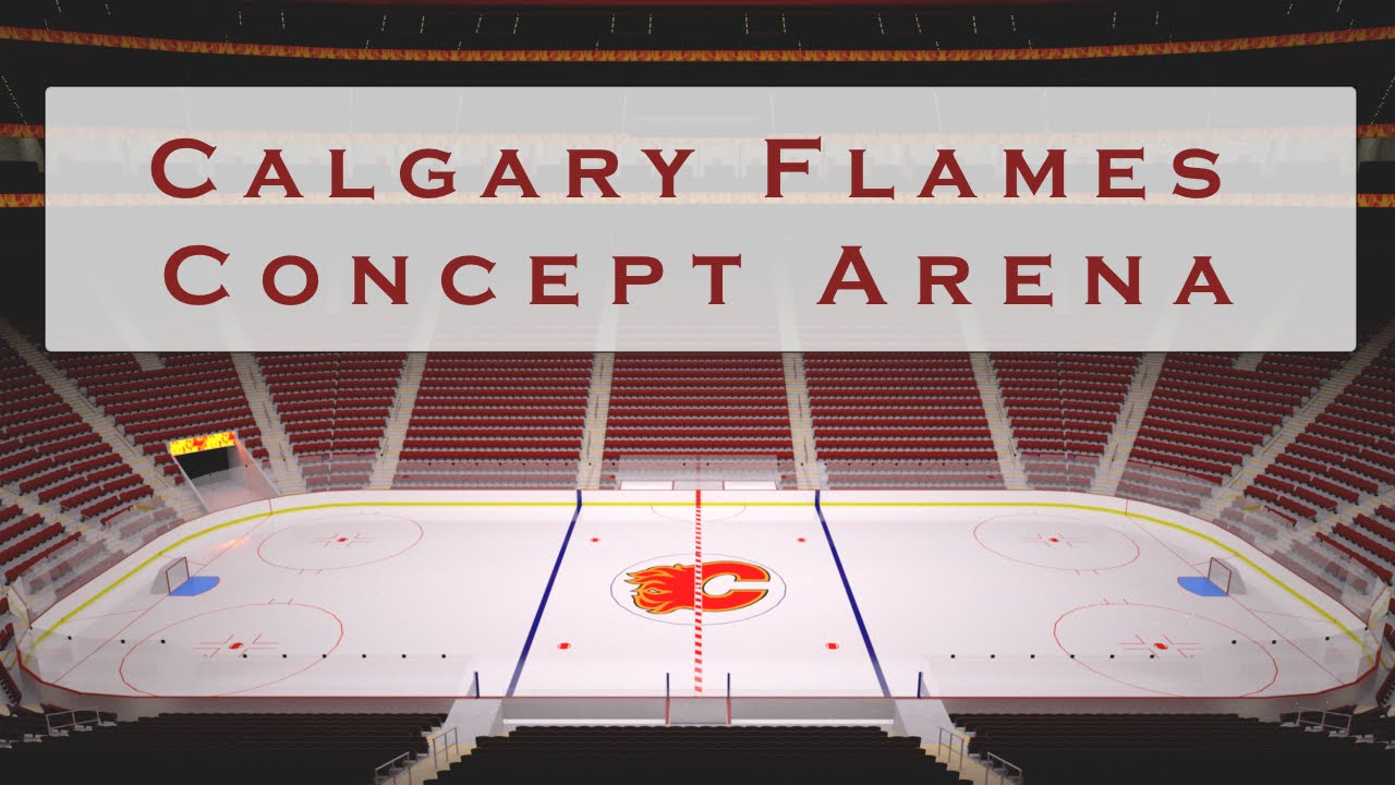 Calgary Flames Concept Arena Version 6 Saddleplex Youtube