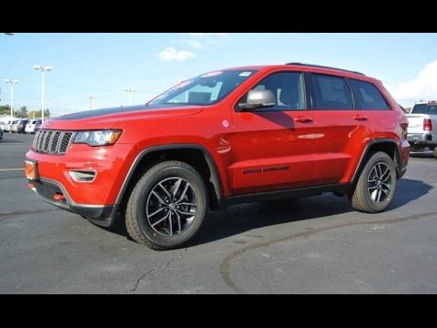 2017 jeep grand cherokee trailhawk v8 4x4 for sale dayton troy piqua sidney ohio 27754t youtube. Black Bedroom Furniture Sets. Home Design Ideas
