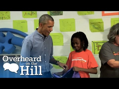 Girl Expects Beyonce, Gets Obama | Overheard On The Hill | msnbc