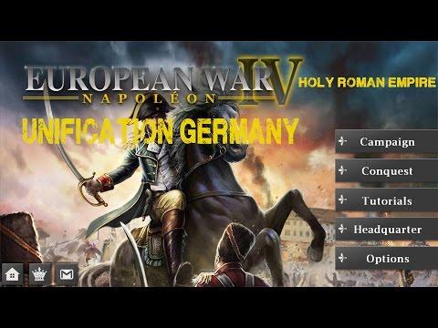 European War 4 Napoloen Coalition Unification Germany Walkthroughs