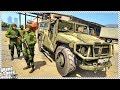 GTA 5 - RUSSIAN ARMY DEALS WITH HOSTAGE SITUATION (Russia Army Rescue Hostage)