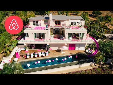 Sammy Stone - You can stay at the Malibu Barbie Dreamhouse???