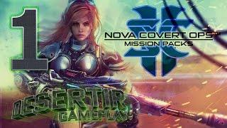 Starcraft 2 - Нова: Незримая Война | Незримая Война | Часть 1 (Эксперт) (Нова: Секретная Операция)