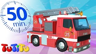 TuTiTu Đồ chơi | Xe cứu hỏa  | Và các Đồ chơi bổ sung | 50 phút