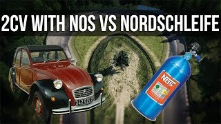 How Fast Can A Citroen 2CV With Nitrous Lap The Nordschleife? thumbnail