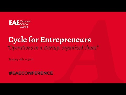 Cycle for Entrepreneurs: Lean Startup - Operations in a startup | EAE Business School
