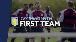 Snapshot of Aston Villa Training
