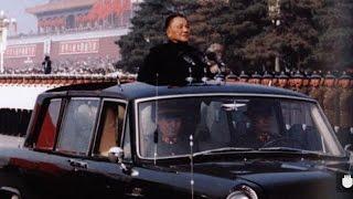 珍贵画面!!!回顾中国阅兵,领导人如何走过检阅部队
