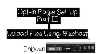 Bluehost Tutorial - How to Upload HTML Files to Your Website