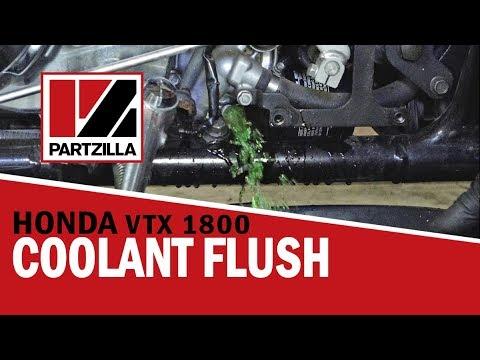 How to Do a Coolant Flush on a Motorcycle | Honda VTX 1800 | Partzilla com