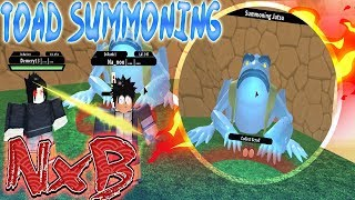 ROBLOX NRPG Beyond: How To Get TOAD SUMMONING | Mount Myoboku Location