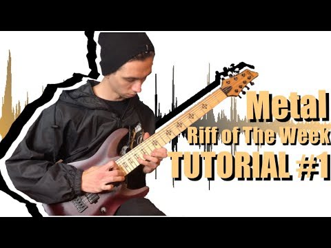 How to Play Drop G Djent Riff of The Week | ROTW Tutorial #1