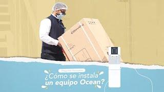¿Cómo se instala nuestro equipo de Purificación de agua Ocean?