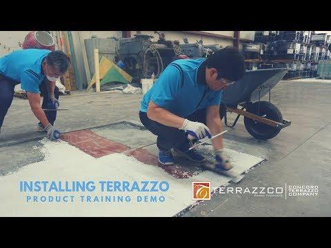 Installing Epoxy Terrazzo Using Terrazzco Brand Products