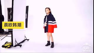 kirahosi 여아 코트 아동 모직 겨울 캐주얼 자켓…
