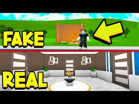I PRETENDED TO BE HOMELESS, BUT HAD A *SECRET* UNDERGROUND MANSION!! (Roblox Bloxburg)