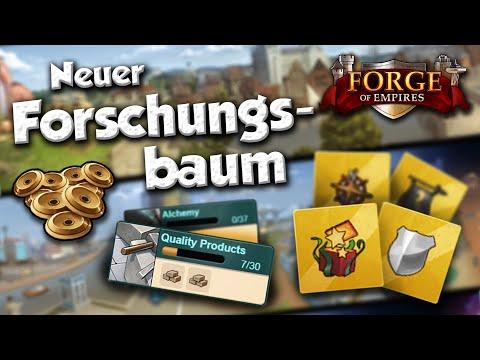 Forge Of Empires -- Neuer Forschungsbaum! -- Design Und Handhabung