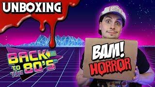 BAM BOX HORROR (February 2019) 💀 Unboxing 80's Horror