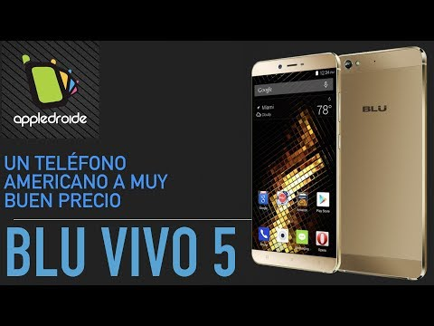 BLU VIVO 5 un smartphone con excelente pantalla amoled