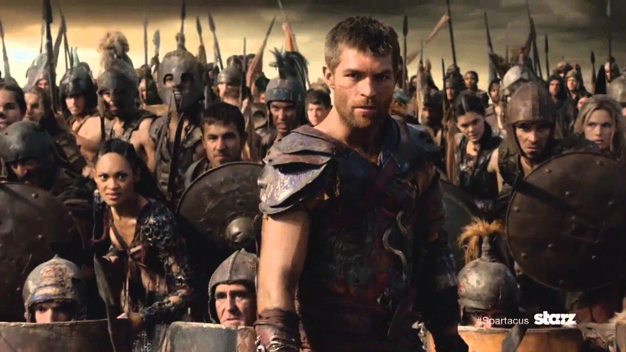 Spartacus All season