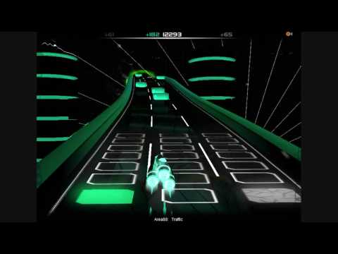 Audiosurf Cyber trance bonaza pt7 (traffic)