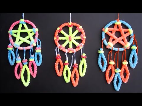 DIY Crystal Dreamcatcher | Borax Crystals Science ...