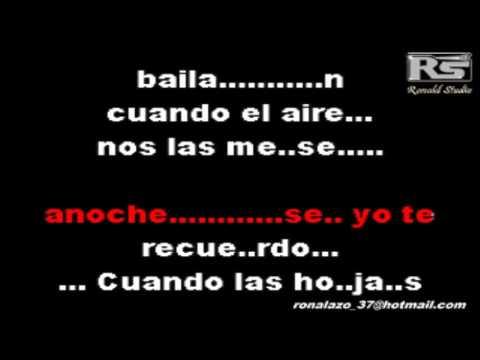 Juan Gabriel ftMarc Anthony- Yo Te Recuerdo -Karaoke Exclusivo