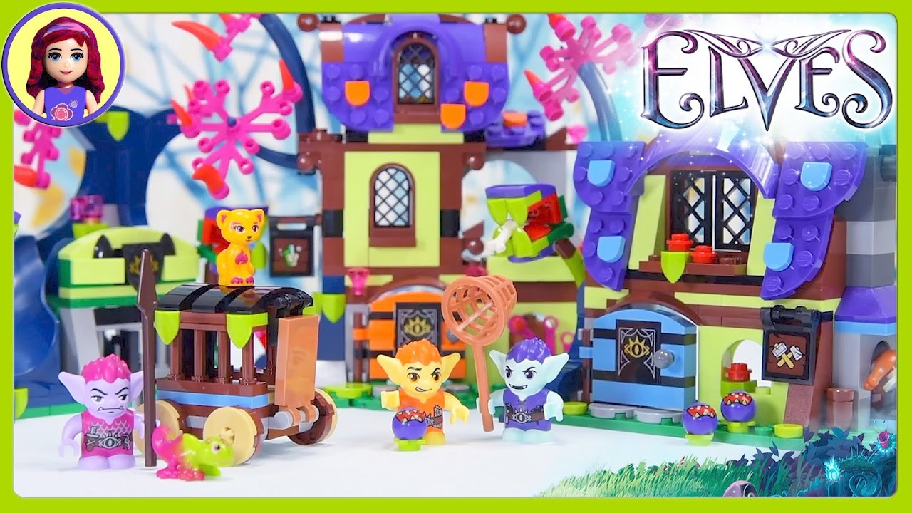 Lego Elves Magic Rescue From The Goblin Village Part 1