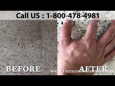 Terrazzo Flooring Repair Cost in West Palm Beach