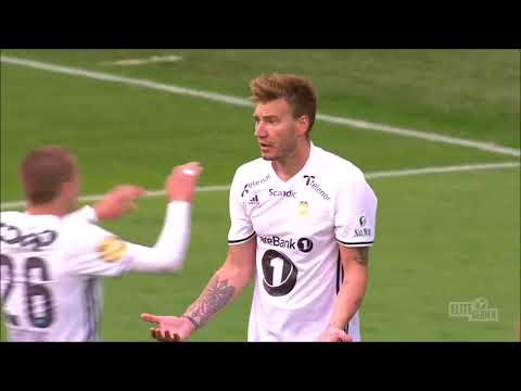 UPDTAE! ALL 9 Nicklas Bendtner goals for Rosenborg Bk