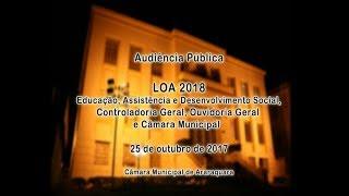 Audiência Pública LOA 2018