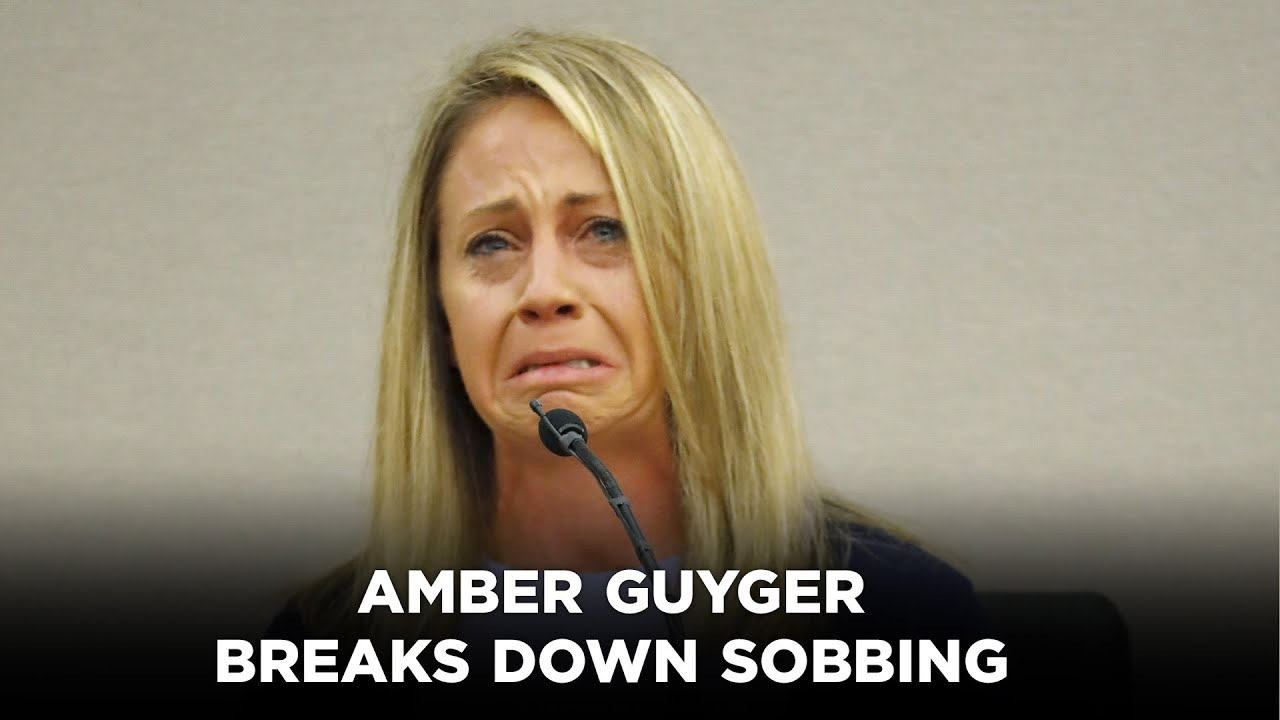 Download Amber Guyger breaks down sobbing as she testifies about night she killed Botham Jean