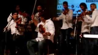 dil ke jharoke mein tujko bithakar on violin and piano