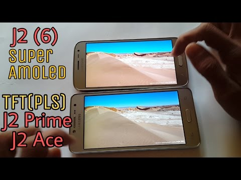 Galaxy J2 Ace/ J2 Prime (TFT) Display Compare with J2 (6) Amoled