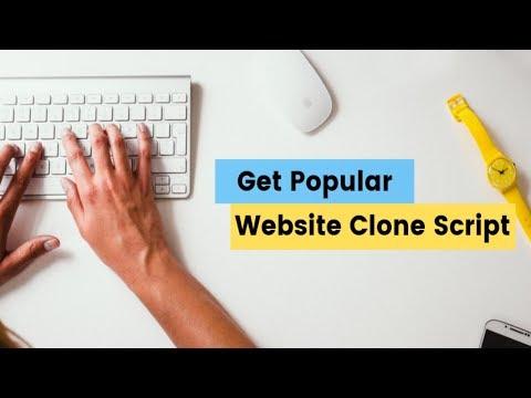 Popular Website Clone Script | Custom PHP website Clone Script | Startupmart