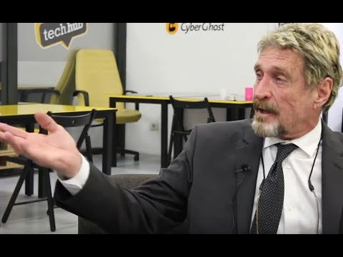 John McAfee: Blockchain, Bitcoin, Hackers & Cyber Security
