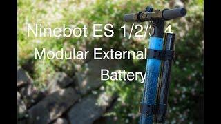 Ninebot ES1/2/3/4 Modular External Battery Tutorial