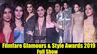 Filmfare Glamours amp Style Awards 2019  Complete Video