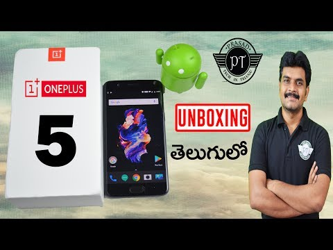 OnePlus 5 unboxing & initial impressions indian retail unit ll in telugu ll by prasad ll