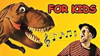 Dino Video for Kids #1 - Family Friendly Puppet Dinosaur Videos