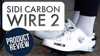 SIDI CARBON WIRE 2 CYCLING SHOES 2019 | PREMIUM ITALIAN CARBON ROAD...