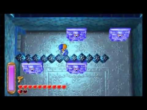 The Legend of Zelda: A Link Between Worlds - Ice Ruins (All Treasure Chests)