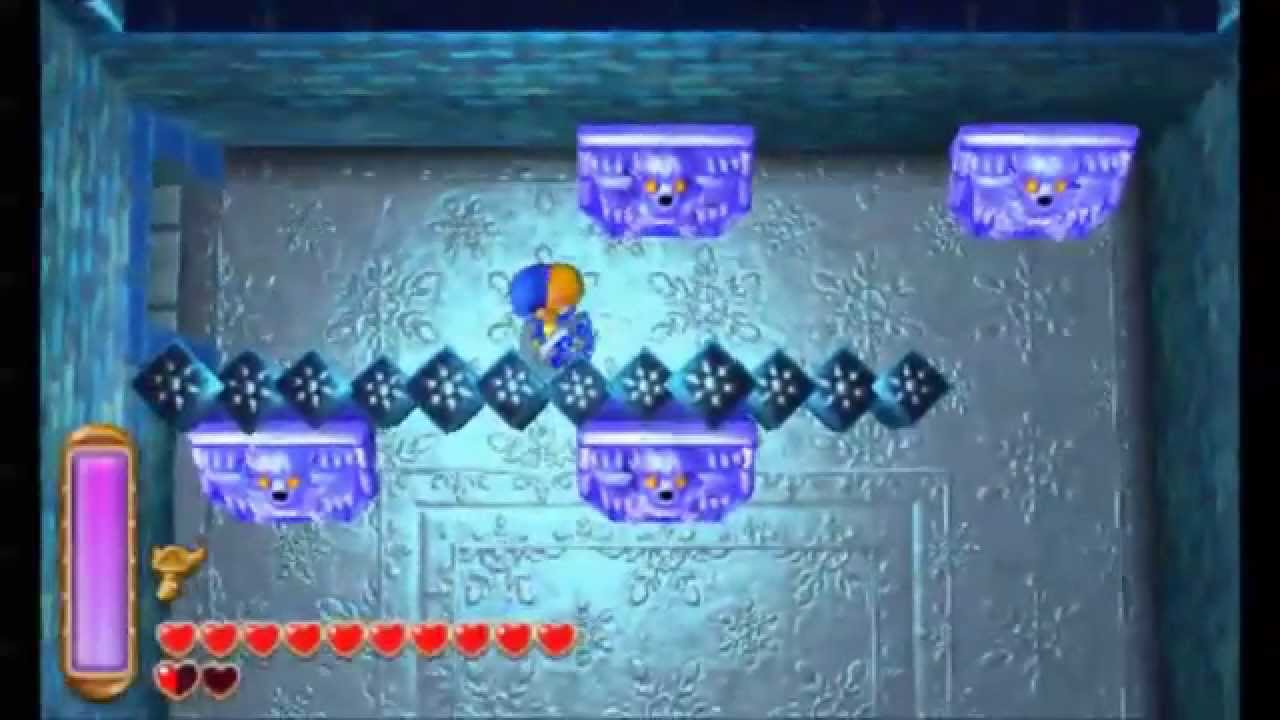 The Legend Of Zelda A Link Between Worlds Ice Ruins All Treasure