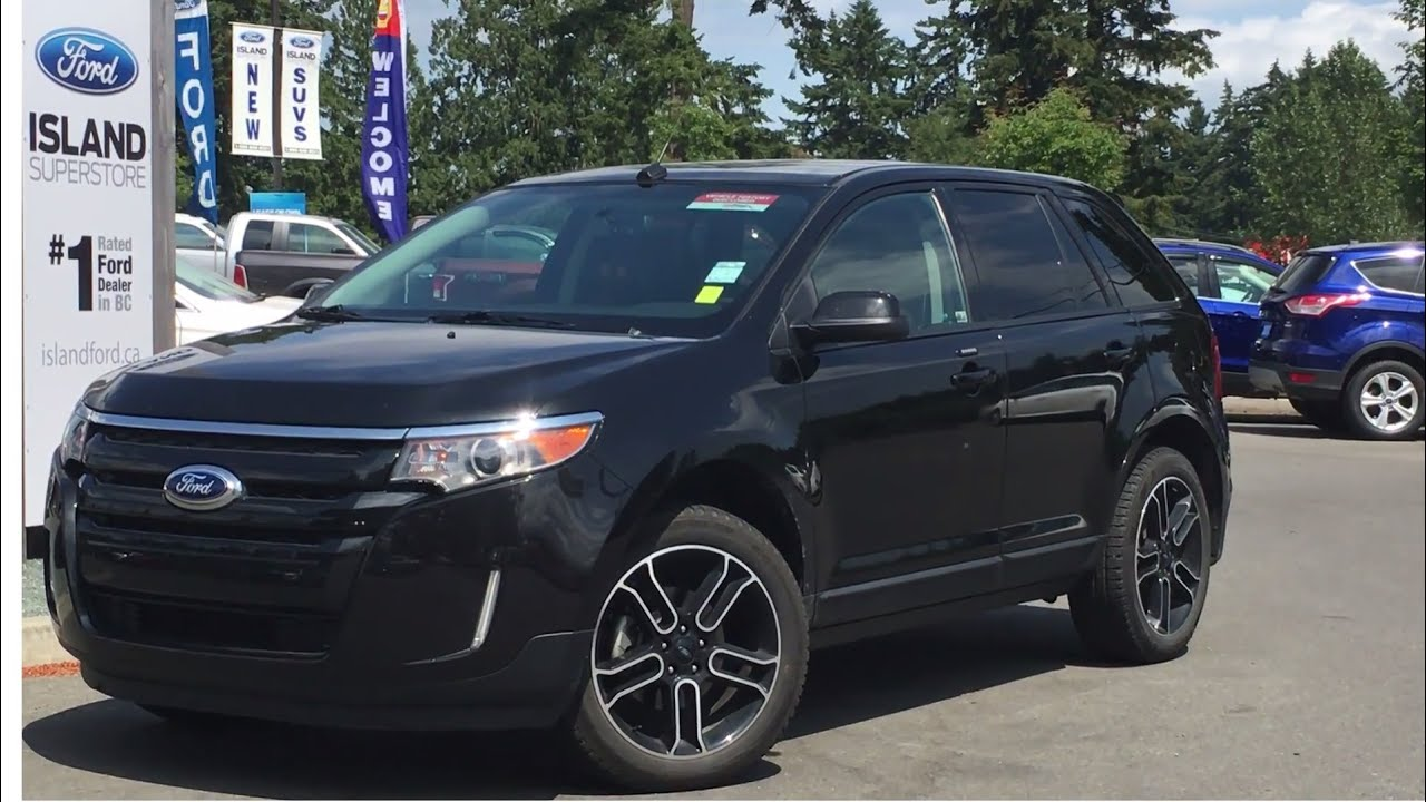 2014 Ford Edge 4dr Sel Awd Review Island Ford Youtube