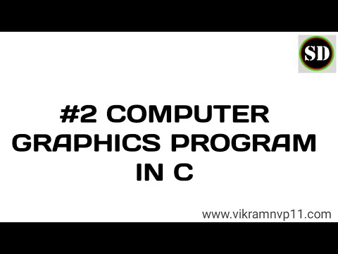 #2 computer graphics programming in c