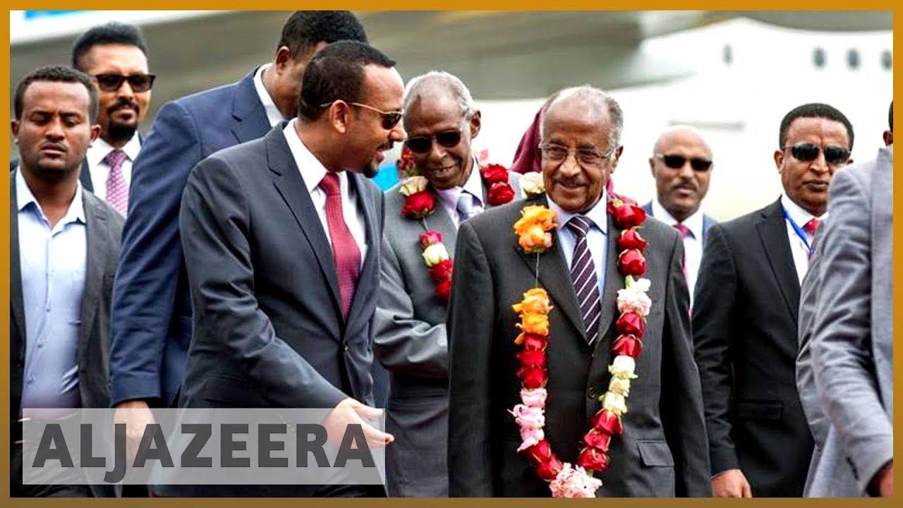?? ?? Eritrea delegation arrives in Ethiopia ahead of landmark talks | Al Jazeera English